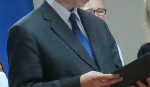Mamy nowego Przewodniczącego Samorządu Uczniowskiego…