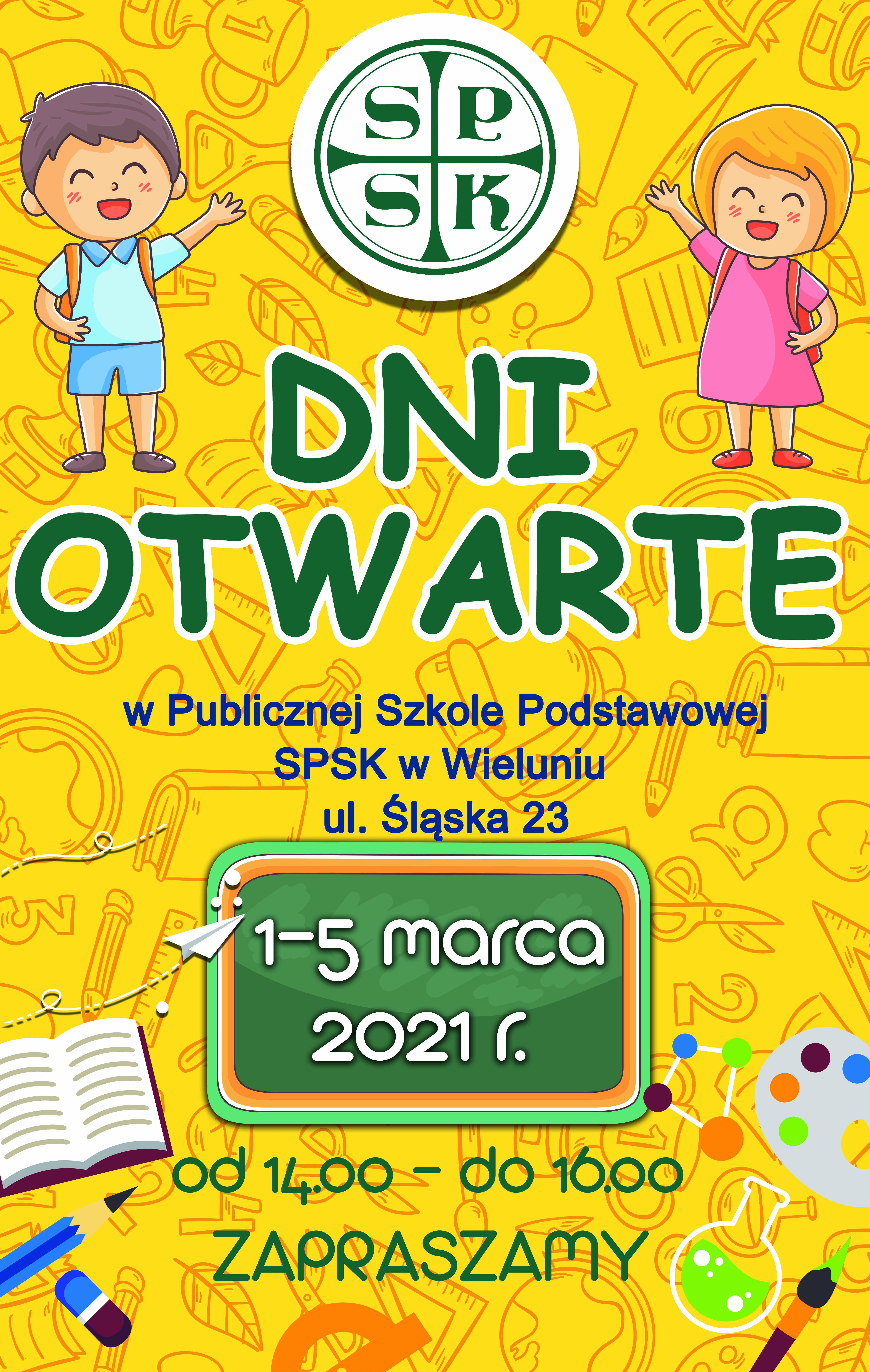 """1 – 5 marca – """"Dni otwarte"""""""